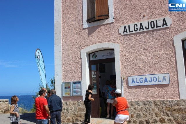 inauguration Algajola